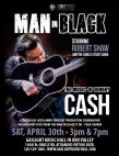 Robert Shaw and The Lonely Street Band present Man in Black - A Tribute to Johnny Cash