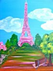 Paint & Sip: Eiffel Tower