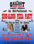Gaslight Music Hall Pizza Party