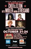 An Evening with Cher, Elton John, Bette Midler, Barbra Streisand & many more!