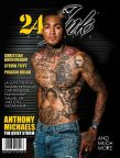 Tucsonan Anthony Michaels on the cover of Ink 24/7 Magazine as the winner of Spike TV's Ink Master