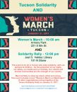 Women's March on Tucson and Tucson Solidarity Rally