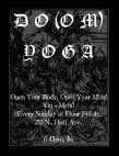 Doom heavy metal Yoga at Floor Polish Dance Studio