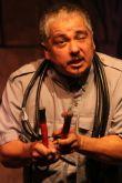 Rubén C. González in Arizona Theatre Company's La Esquinita, USA. Photo by POCHO1