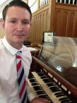 Gordon Stevenson, Scottish organist in concert