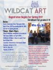 Wildcat Art K-12 Classes