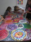 Collaborative painting project