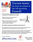 Summer Teen French Language Camps