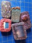 Polymer Clay Tins by Merry Warner