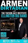 Armen Dirtadian with The Tucson Jazz Institute Ellington Big Band