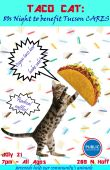 Taco Cat: 80s Night To Benefit Tucson C.A.R.E.S.