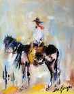 """DeGrazia's Cowboys"""