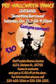 Pre-Halloween Poster / Katie Popel