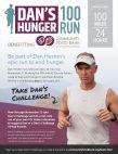 Dan's Hunger 100 Run
