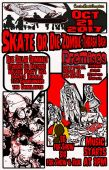 SK8 OR DIE ZOMBIE THRASH BASH / Cactus Roots Graphics