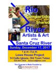 Rio Compartido/Shared River –Introductions to Artists and Art of the Santa Cruz River