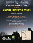 Stargazing at Whipple Observatory