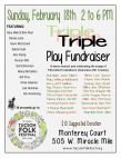 Triple Play Fundraiser / Aspen Green