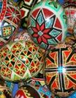 Ukrainian Egg Decorating with guidance from Susan Corl is Family Fun.