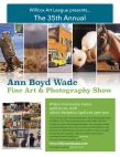 Ann Boyd Wade fine art and photography show