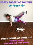 Booty Boosting exercise class at The Hoff Studio with Frost Fit