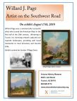 "Willard J. Page ""Artist on the Southwest Road"""
