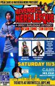 Revenge Of The Nerdlesque: Tucson Comic Con Edition