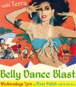 Belly Dance Blast workout dance class at Floor Polish Studio