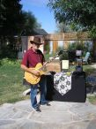 Musician Daniel Livingston performing at The Third Sunday Artisans And Farmers Market / Edward W. Ejk