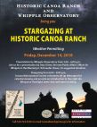 Stargazing at Historic Canoa Ranch with Whipple Observatory