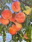 """Decorating"", by Barbara Mulleneaux, Oil, pallet knife, 12x16 / Barbara Mulleneaux"