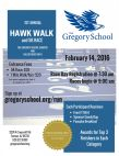 Hawk Walk & 5K Run