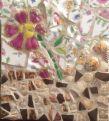 Mosaics Using Broken Pottery and Ceramics