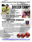 Tucson Racquet Club Summer Camp - Soccer Camp