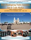 2019 Thanksgiving Native American Arts and Crafts Market