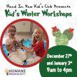 HSSA Kid's Winter Workshops