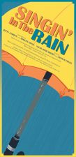 Pima Theatre  Singin in the Rain / Illustration by Alix Harris