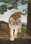 Korean tiger watercolor by Soma Han