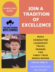 Join a tradition of excellence / Brent Davis
