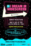 Poster for I Dream in Widescreen 2021 / Jordan Lorsung