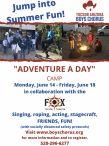 Tucson Arizona Boys Chorus Adventure a Day Camp